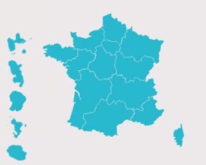 En région
