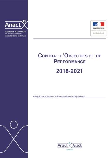 Contrat d'objectifs et de Performance 2018-2021