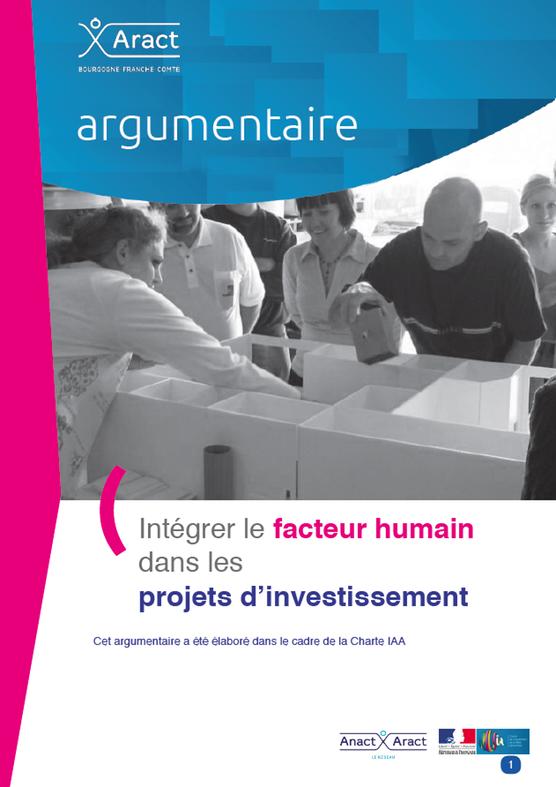 Intégrer le facteur humain dans les projets d'investissement. Argumentaire