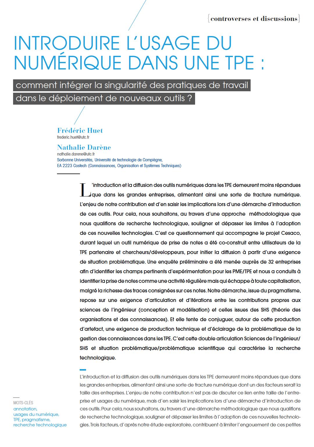 Visuel : RDCTn5 - Introduire l'usage du numérique dans une TPE