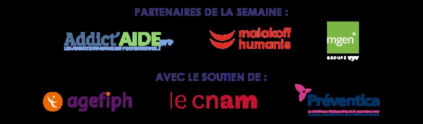 Partenaires Semaine pour la qualité de vie au travail 2021