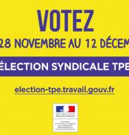 Élections syndicale : votez du 28 novembre au 12 décembre 2016 !