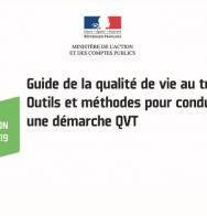 Un guide pour conduire une démarche QVT dans la fonction publique