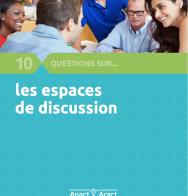 couverture 10 questions sur les espaces de discussion