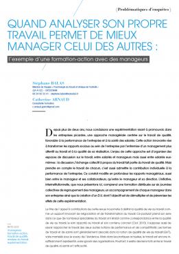 Visuel - Quand analyser son propre travail permet de mieux manager celui des autres