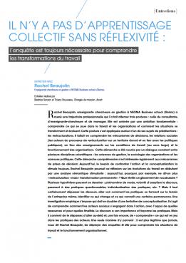 Visuel - Il n'y a pas d'apprentissage collectif sans réflexivité - RDCTn7