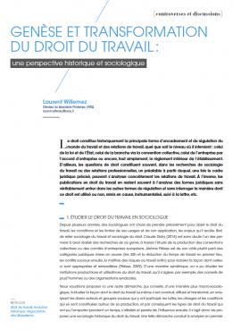 Visuel - Genèse et transformation du droit du travail - RDCTn7