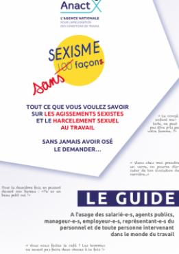 couv guide sexisme au travail