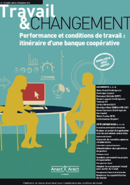 Performance et conditions de travail : itinéraire d'une banque coopérative