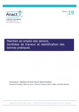 Maintien en emploi des seniors. Synthèse de travaux et identification des bonnes pratiques