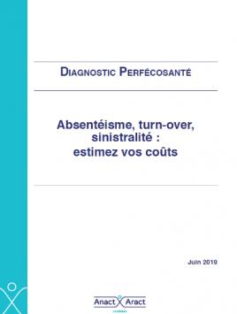 Vignette document Diagnostic Perféctosanté : absentéisme, turn-over, sinistralité : estimez vos coûts