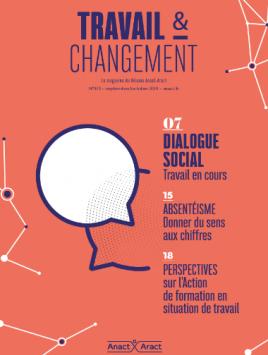Dialogue social. Travail en cours