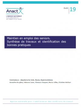 Vignette document Maintien en emploi des seniors. Synthèse de travaux et identification des bonnes pratiques