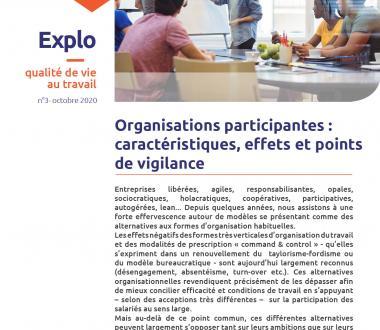 Organisations participantes