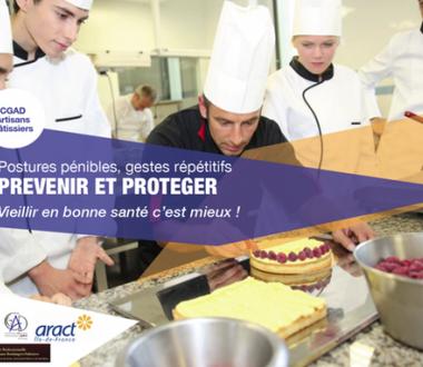 Prévenir la pénibilité chez les artisans pâtissiers