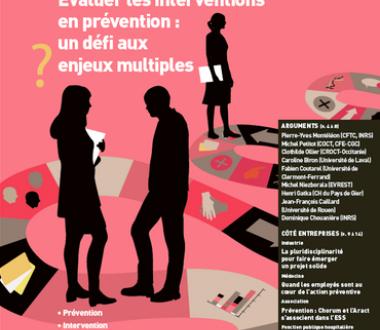 Évaluer les interventions en prévention : un défi aux enjeux multiples