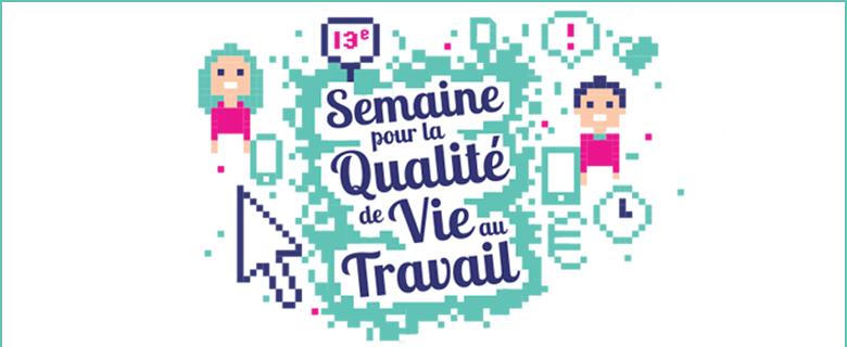 Visuel - Semaine pour la qualité de vie au travail 2016