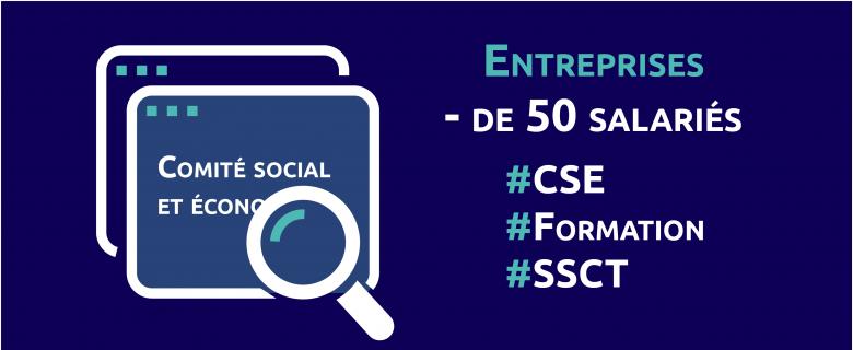 Entreprises de moins de 50 salariés : une formation pour agir en santé, sécurité et conditions de travail avec le Comité social économique (CSE)