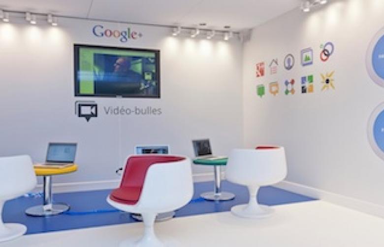 Une visite guidée des nouveaux bureaux de google à paris agence