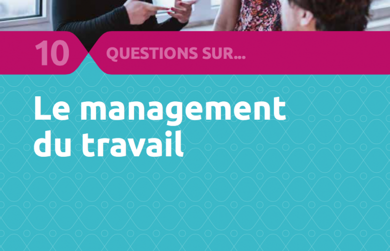 couverture 10 question sur le management du travail