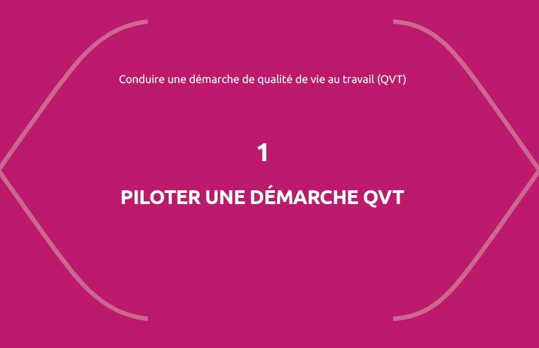 Formation Piloter une démarche qualité de vie au travail (QVT)
