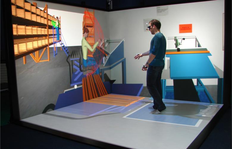 plateforme de réalité virtuelle