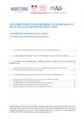 Les enseignements des premiers clusters sociaux QVT dans les établissements de santé. Synthèse du rapport d'évaluation
