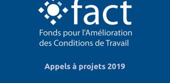 Découvrez les thèmes des appels à projets 2019 du Fonds pour l'amélioration des conditions de travail