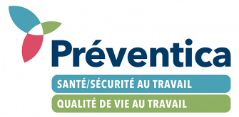 Visuel - Logo Préventica QVT Sécurité