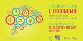 """52ème Congrès de la SELF : """"Présent et futur de l'ergonomie"""""""