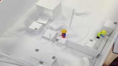 Simuler le travail futur avec une maquette volumétrique