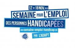 Visuel - semaine pour emploi des personnes handicapées 2015
