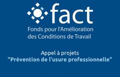 Appel à projet Fact usure professionnelle