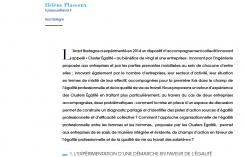 Les clusters égalité : une démarche innovante en faveur de l'égalité professionnelle et de la QVT