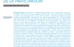 Intervenir en entreprise pour favoriser le maintien en emploi : la nécessité de la participation