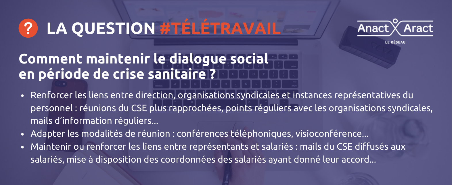 question télétravail 1
